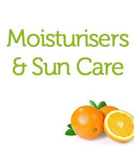 Moisturisers & Sun Care