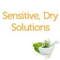 Sensitive, Dry Solutions