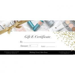 The Skin Care Clinic Gift Certificate