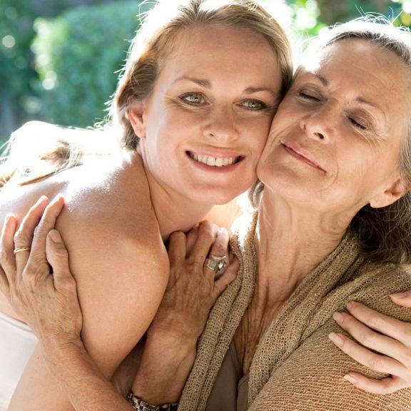 фото мама и дочь голые