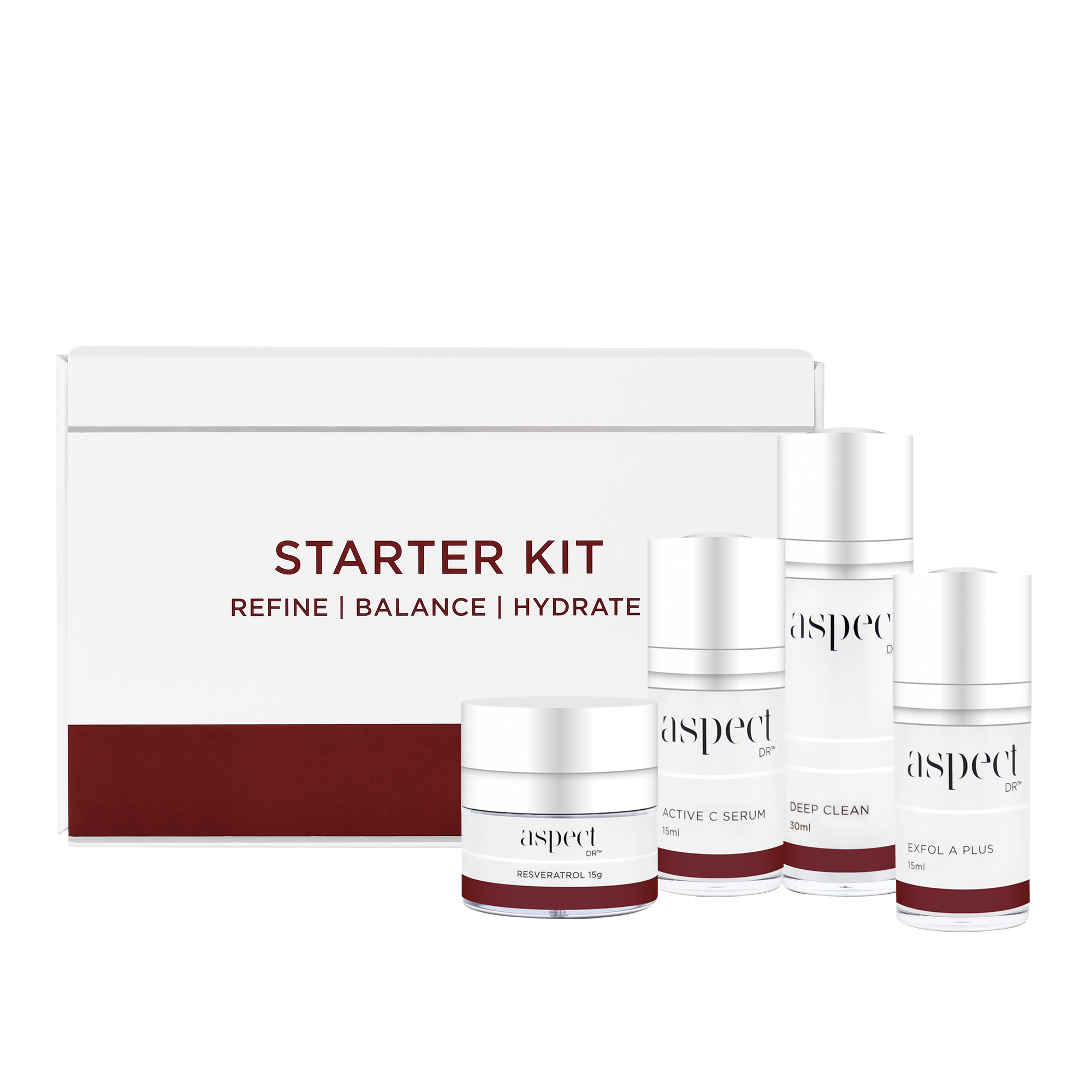 Buy Aspect Dr Starter Kit Online The Skin Care Clinic