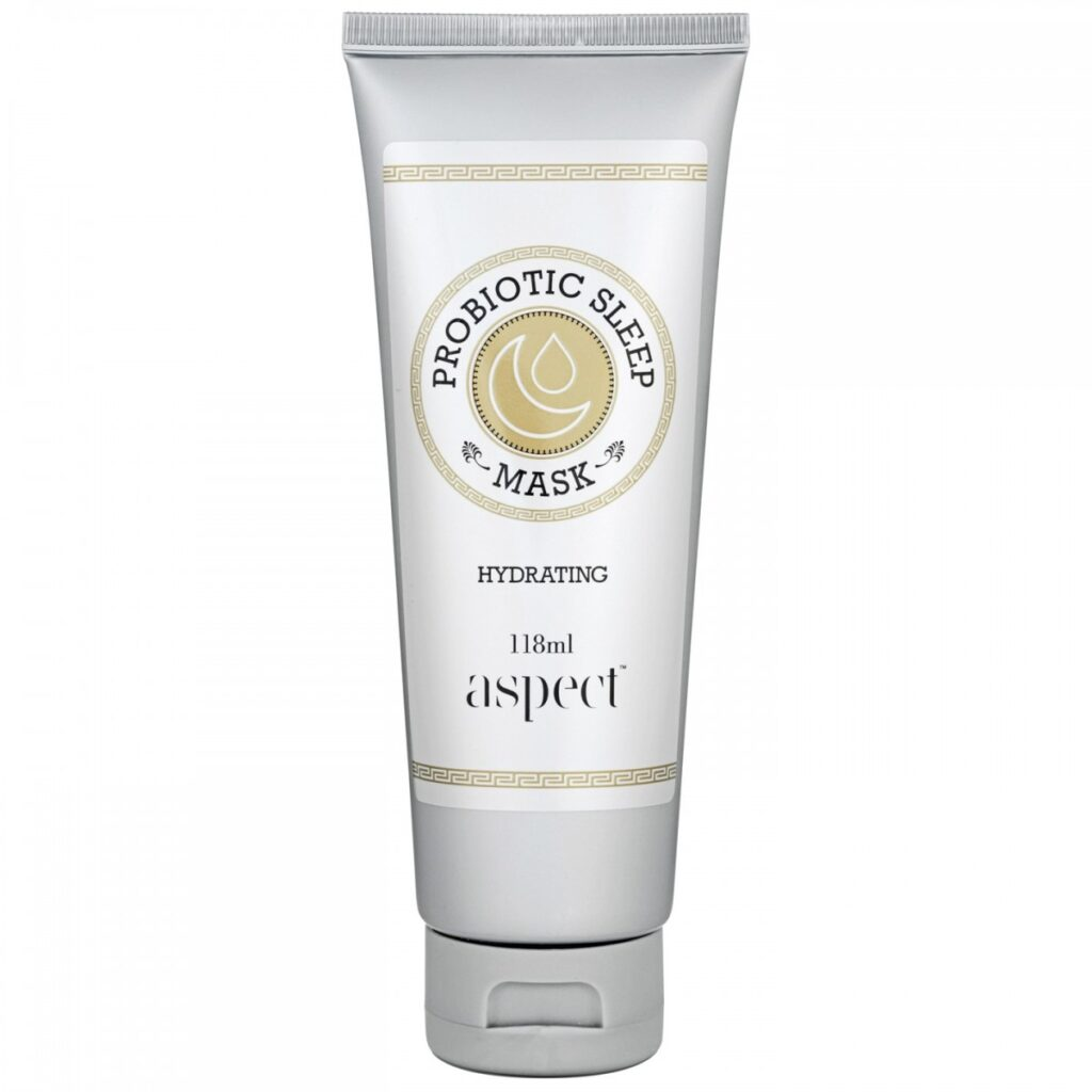 Aspect Gold Probiotic Sleep Mask for rosacea