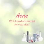 Acne skin care product guide