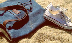 Detox Sneakers Beach Exercise