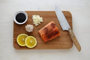 foods to hydrate dry skin salmon