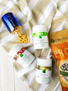 Miessence Superfoods and Osmosis Elevate