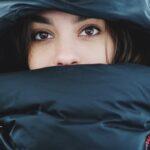 Winter Dryness Female Face