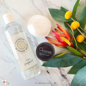 Aspect Micellar Water and Osmosis Melt Away Gelee