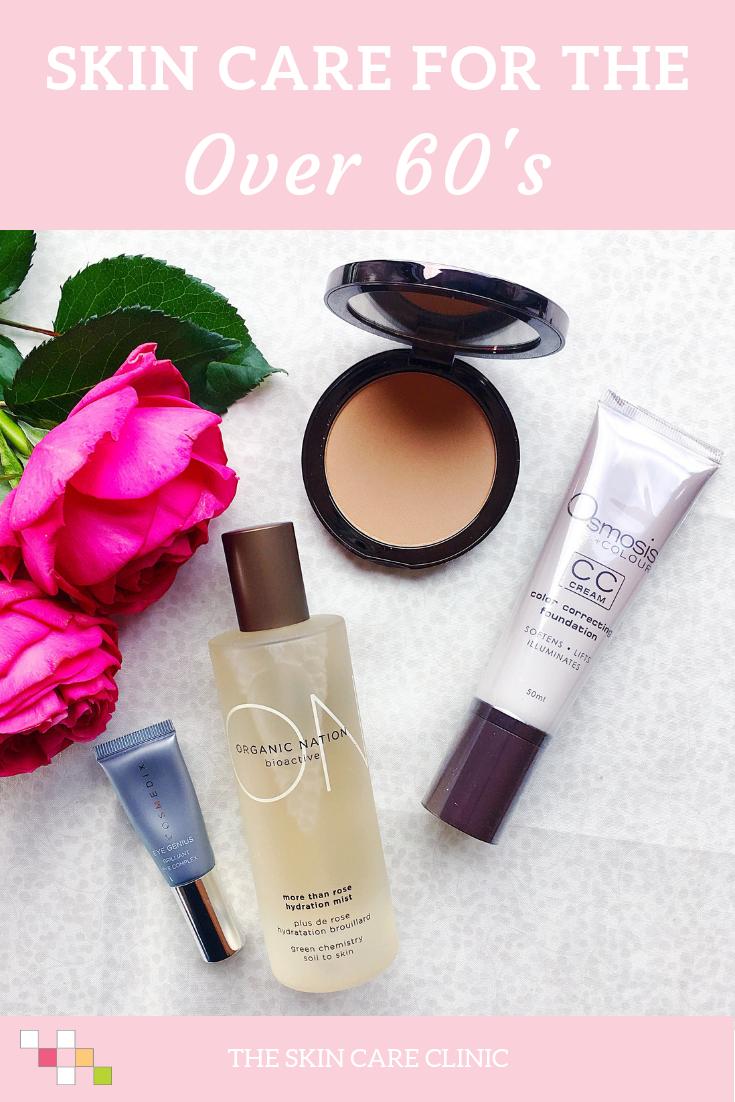 Skin Care Makeup Over 60