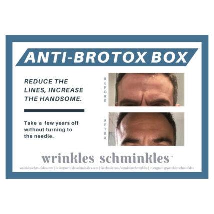 Wrinkles Schminkles MENS INFO CARD