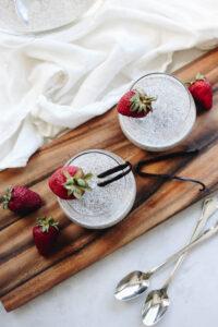 Sugars Effect on Your Skin Vanilla Bean Chia Pudding