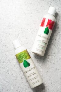 Miessence Body Wash and Moisturiser