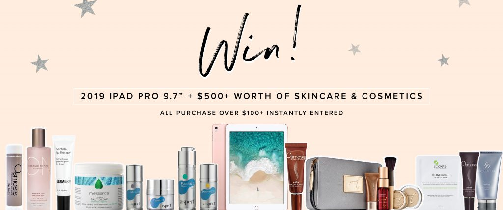 Competition - iPad & Skin Care