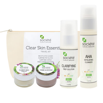 Societe Clear Skin Essentials Travel Kit