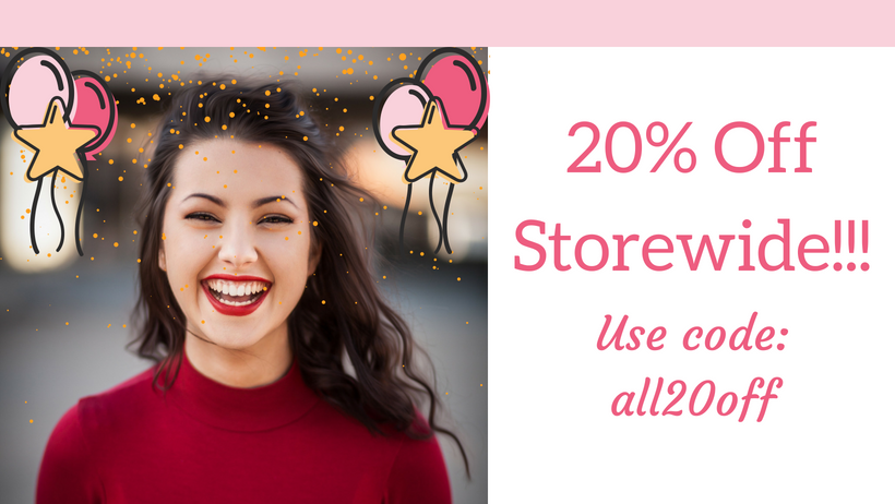 20% OFF Storewide June 2018 Cover