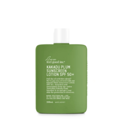 We Are Feel Good Inc. Kakadu Sunscreen Lotion SPF50+